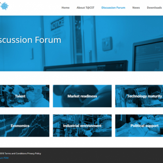 Optimum produces a forum website for Technology at CST.