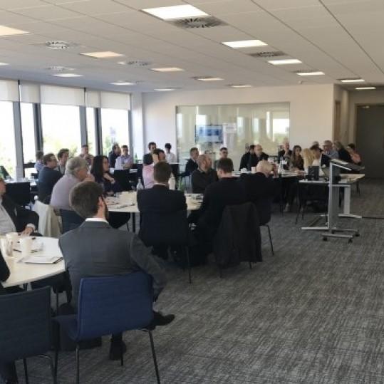 Optimum makes the T@CST 'VCSEL, LiDar and LiFi technologies forum' a success.