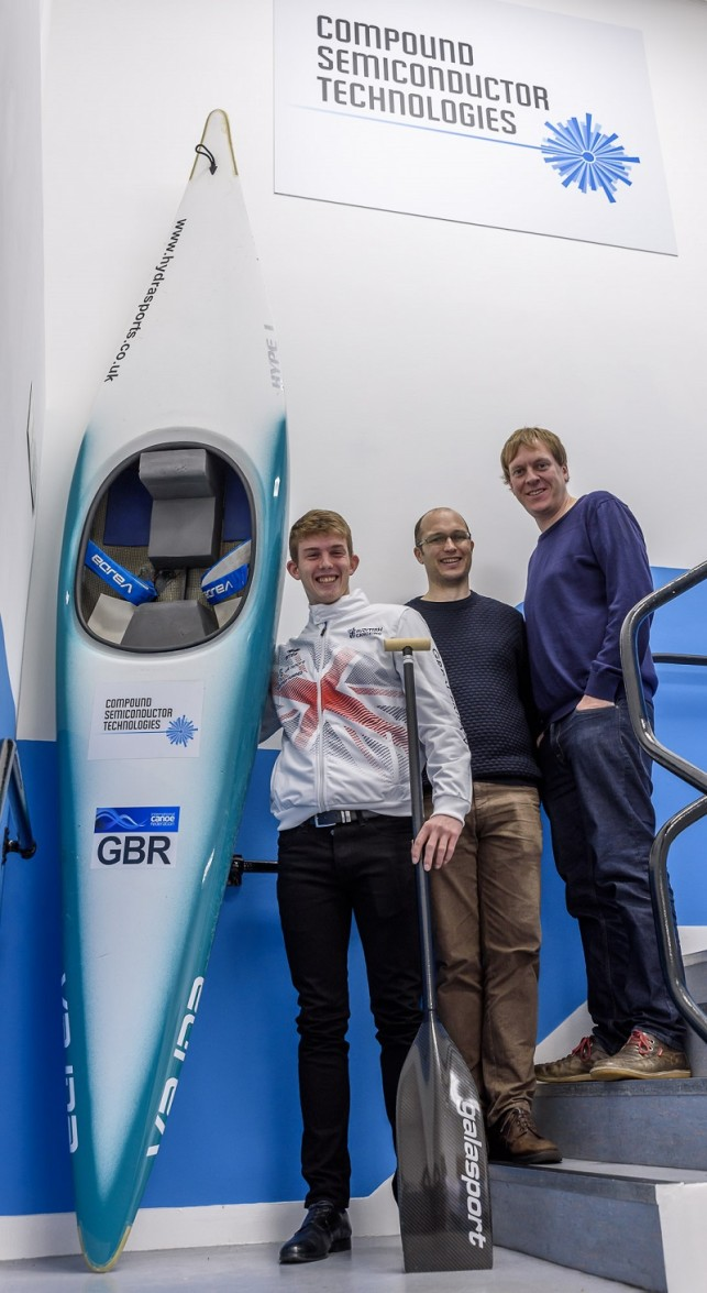 Peter Linksted, British Junior Canoe Slalom Champion, completes his work experience at CST Global.