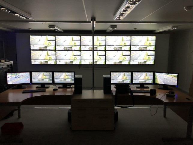 Videcon provides Highways England with a traffic management system for the M62.