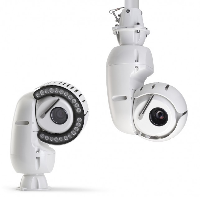The ground-breaking VOLANT™, rugged, PTZ camera continues Redvision's tough reputation.