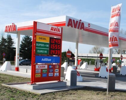 Grundig Security protects Avia self-service petrol stations.