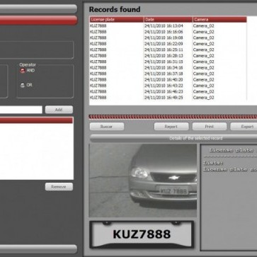 Digifort vehicle LPR software enables multi-channel plate reading.