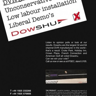 Dowshu election advert