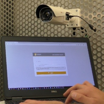 Eneo's 3MP cameras include a WiFi interface for remote configuration and test monitor functionality.
