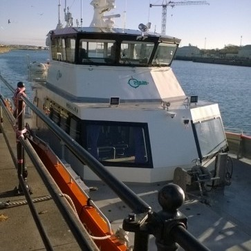 eneo and BEE Ltd help protect Windfarm support boats.