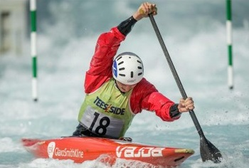 Peter Linksted selected for canoe singles at Junior World Champs.