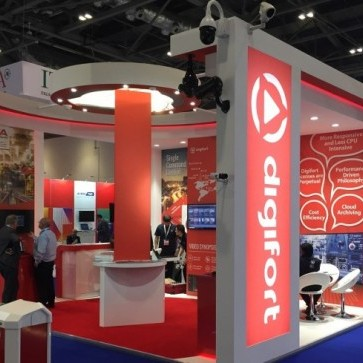 Redvision cameras were featured on the Digifort VMS stand during a successful IFSEC 2018.