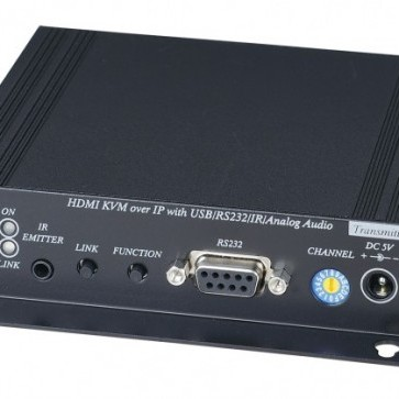 Eneo's KVM extenders access NVRs and DVRs via Ethernet.