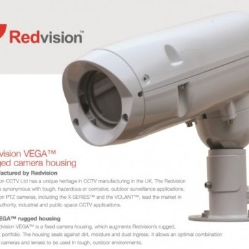 Redvision VEGA housing range.