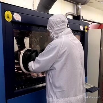 CST Global MOCVD, epitaxial, thin-film deposition machine.