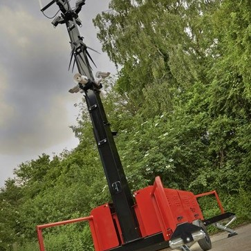 Redvision's radar controlled rugged dome uses Ogier Electronics technology.