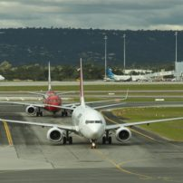 Perth airport australia ed small